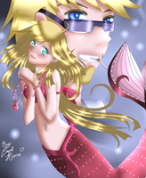 Alice and Dominique by MyangHime