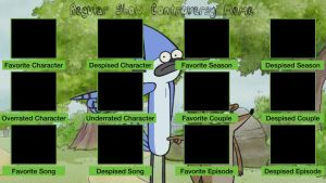 Regular Show Controversy Meme Template by air30002