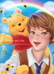 Christopher Robin and Pooh by aungor