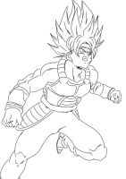 DBUC Super Saiyajin Bardock by darkhawk5