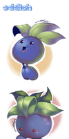 3 Ugly Oddish by yeomaria