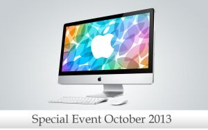 Apple special event October 2013 by WallforAll