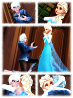 MMD ~ Do You Wanna Get Married? ~ Jelsa by XxChocolatexHeartsxX