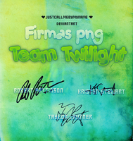 Firmas Team Twilight PNG by Justcallmebymyname by Justcallmebymyname