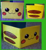 pikachu wallet by FrozenFeather
