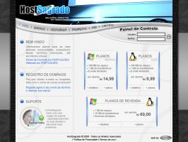 HostSagrado - Website by jaderubini