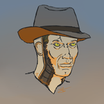 Nick Valentine by Mothirbyrd107