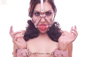 Porcelain Pink Restraints by RedrumCollaboration