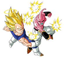 Vegeta VS Bubu by BardockSonic