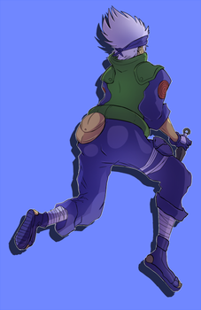 big slappy kakashi by icespicespace