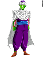 Piccolo Daimaoh jr. by Krizeii