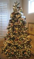 Christmas Tree 2 by GreenEyezz-stock