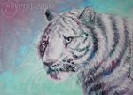 White Tiger | ACEO by silverybeast