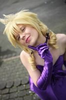 Miss Cloud (Silk Dress) by SerinuCeli