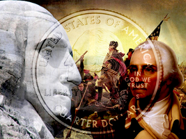 George Washington Collage by MrAngryDog