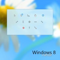 Windows 8 cursor set for XP by MaxDaeWon