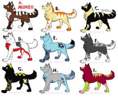 Wolf Adoptables 117 by Animal-Adoption-Club