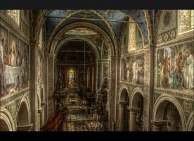 Plock Cathedral 1 by Isyala