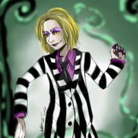 Beetlejuice by Whitenoahpixiegirl