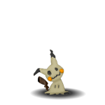 Adventure Mimikyu (Livestream Request) by BlackFoxPixels
