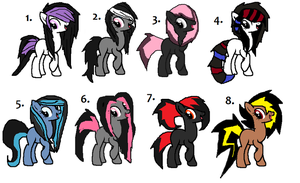 MLP Adopts - CLOSED by iPandacakes