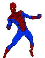 The Amazing Spider-Man by stick-man-11