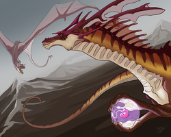 Dragon Mother by brianboyster