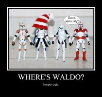 Where's Waldo? by BSGfan4evr