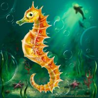 Sea Horse by Irrisor-Immortalis