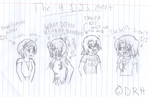 DJ has 4 personalities O.o by sqeakii00