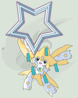 #385 (Mega) Jirachi (Pose) by RaiZhuW-The-Real