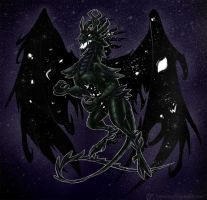 Day 36: Black as the Void by Jadenyte