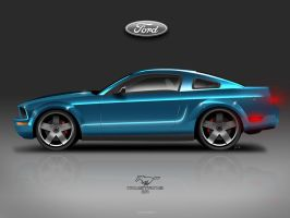 Ford Mustang ZR by josepa
