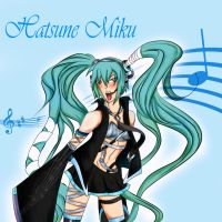 Vocaloid: Hatsune Miku by EvilHateYouAll