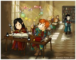 Afternoon Classes by Isriana