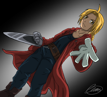 Edward Elric by Pretty-Belle