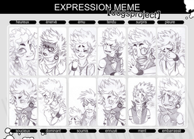 Expression Meme - Ellie by JLise