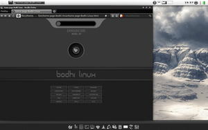 Preview : Start page Bodhi Linux by chicoray