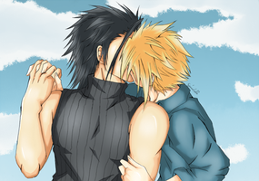 ZackxCloud color~ by SerinuCeli