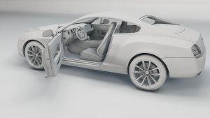 Bentley WIP 4 by Saleri