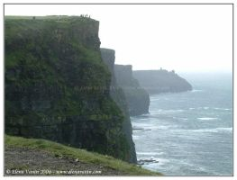 Ireland, the Cliffs of Moher,3 by Lluhnij