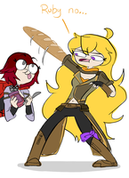 Armed And Bready by JumpinJammies