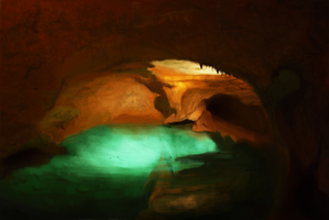 water cave by P1XlE