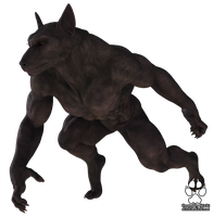 Skiriki's Werewolf Blend (DS4.6 Character Preset) by Skiriki