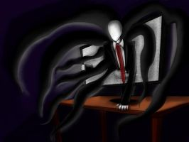 Slenderman by ShiningAster