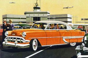 age of chrome and fins: 1954  Chevrolet by Peterhoff3