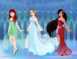 The Frozen Trio by AnneMarie1986