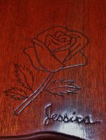 rose carving by 13thStory
