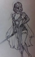 Lady Vader by UnderCoverCottonswab