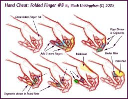 Hand Cheat 08 Folded Fingers by BlackUniGryphon